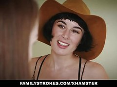 Familystrokes - slutty social media teen fucked movies at freekiloclips.com
