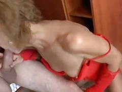 Skinny granny got her old twat fucked movies at freekiloclips.com