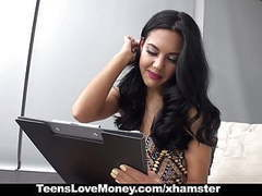 Teenslovemoney - sexy latina fucked for cash movies