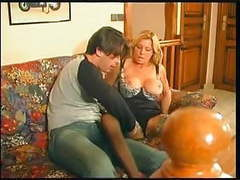 French mature 2 mom likes young guy movies at kilosex.com