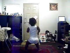 Thick black midget dancing tubes
