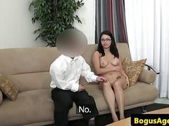 Spex casting euro doggystyled by midget agent videos