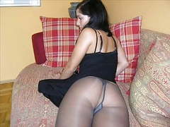 Pantyhose obsession videos