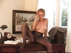 Hairy bossy granny in pantyhose movies at find-best-mature.com