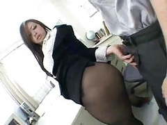 Asian pantyhose worship sex clip