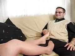 Boss in pantyhose gets what she wants movies at freekiloporn.com