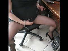 Matilde orgasm in pantyhose black ultrasheer 8d movies
