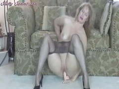 Slutty sammi pantyhose toy masturbations st69 movies