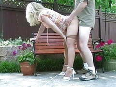 Hot blonde milf banging in pantyhose movies at find-best-mature.com