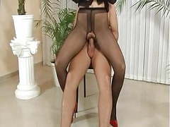 Babes in pantyhose getting licked and drilled movies at nastyadult.info