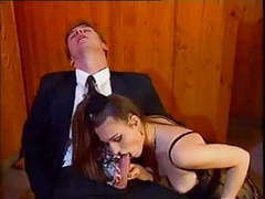 Sexy young wife cheating with her boss tubes