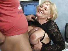 Granny in pantyhose fucks by troc movies at lingerie-mania.com