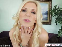 Beauty blonde housewife ashley fires take cock in pov movies at freekiloclips.com