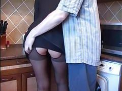Amateur in pantyhose movies at kilovideos.com
