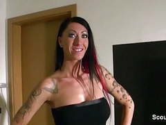 German sister caught him snif her panty and seduce to fuck videos