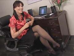 Cum on teachers pantyhose legs movies