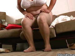 Latina bbw milfs get highly aroused in new pantyhose movies at sgirls.net