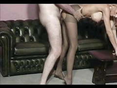 Old man boss fuck girl in pantyhose movies