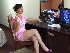 Polish glamour milf stockings pink movies at freekilomovies.com