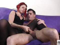 Ariel kay roommate control with lance hart pantyhose edging movies