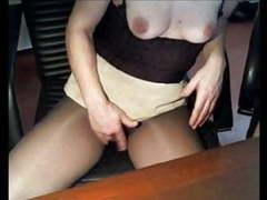 Pantyhose sonen videos