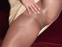 Pantyhose milf gold dress movies at freekilosex.com