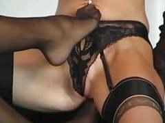 Lesbians love fetish nylon lingerie videos