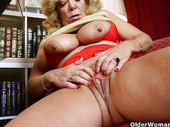 Horny things happen when mom watches porn movies at freekiloclips.com