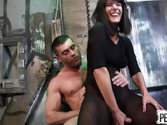 Arena rome caught a new slave lance hart pantyhose edging tubes