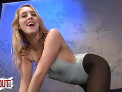 Be a whore for cadence lux sissy training leotard nylons movies at kilovideos.com