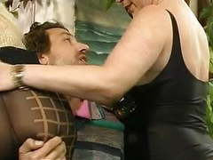 Mff steve got involved with two hot milfs in pantyhose movies at freekiloporn.com