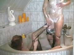 Wet pantyhose ripping movies