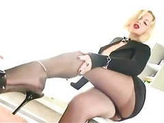 Hot pantyhose secretary movies at find-best-tits.com