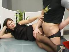 She allowed hump her legs and cum on ass movies at kilopics.com