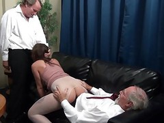 The dominant, older bosses coddles a young intern ... movies at find-best-tits.com