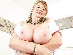 English granny elle is your naughty nurse tonight movies at adipics.com
