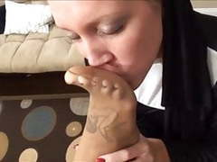 Nun's feet smell good movies at find-best-tits.com