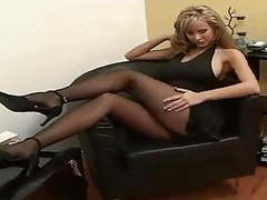 Black pantyhose sexy heels movies at find-best-lesbians.com
