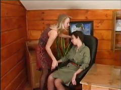 More pantyhose lesbian movies