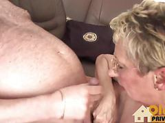 Blonde granny and her affair movies at freekilosex.com