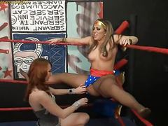 Pantyhose wrestling at clips4sale.com movies at freekilosex.com
