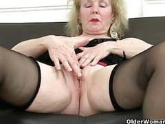 English grannies are addicted to masturbation movies at freekilopics.com