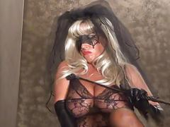 Vampire bride has an 8 inch cock for you! videos