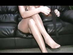 Hayley teasing in pantyhose movies at relaxxx.net