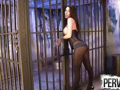 Day 1 of cock tease prison with dava foxx cock tease movies at kilopills.com