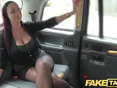 Fake taxi secretary looking lady with huge tits and wet puss movies at freekilosex.com