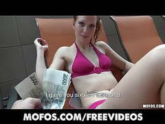 Czech girl is picked up at the public pool for anal tubes