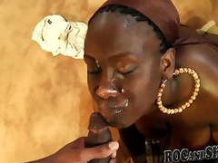 African style blowjob !! movies at freekiloporn.com