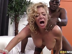 Busty cougar karen summer tastes black cock movies at find-best-pussy.com