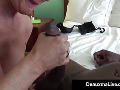 Milf secretary deauxma gets banged by boss's big black cock! movies at find-best-tits.com